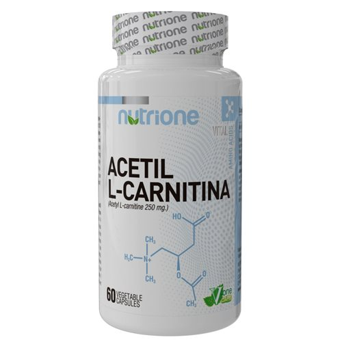 ACETYL L-CARNITINE (ALC) - 60kaps [Nutrione]