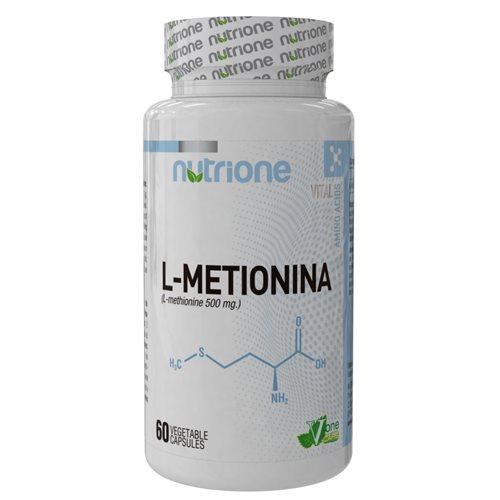 L-METHIONINE - 60kaps [Nutrione]
