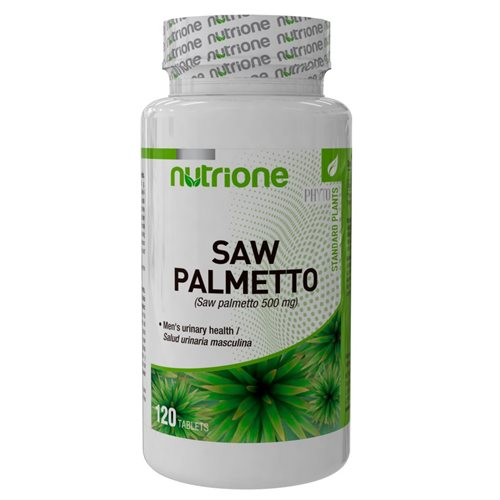 SAW PALMETTO (Palma sabałowa) - 120tabl [Nutrione]