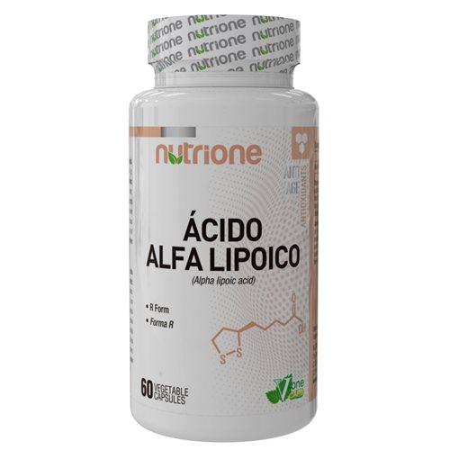 ALPHA LIPOIC ACID (ALA kwas alfa-liponowy) - 60kaps [Nutrione]