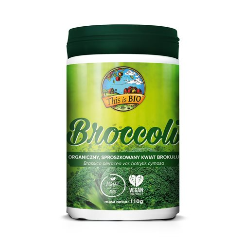 BROCCOLI (BROKUŁ) 100% ORGANIC - 110g [This is Bio]