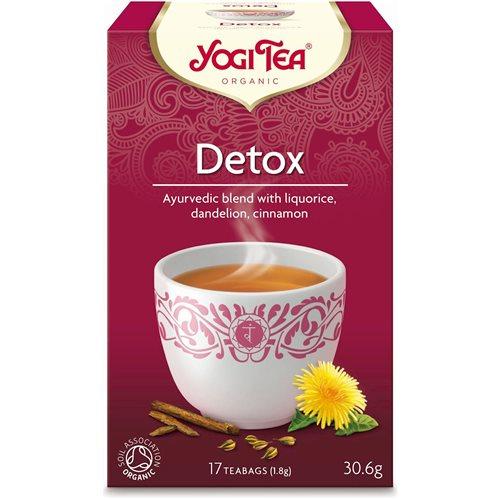 HERBATKA DETOX BIO - 17 x 1,8g [Yogi Tea]