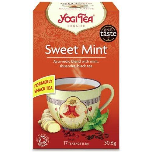 Słodka mięta SWEET MINT BIO - 17x1,80g  [YOGI TEA]