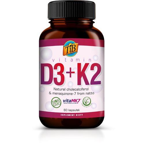 VITAMIN D3+K2 - 60kaps [TiB]