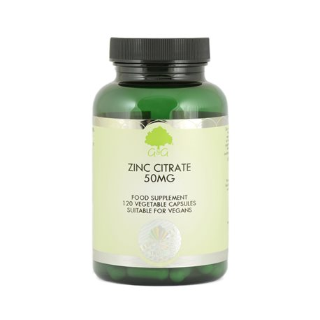 ZINC CITRATE 50mg - 120kaps [G&G]