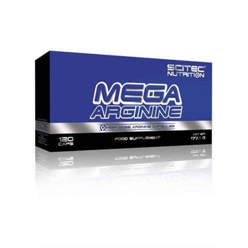 MEGA ARGININE - 120kaps [Scitec]