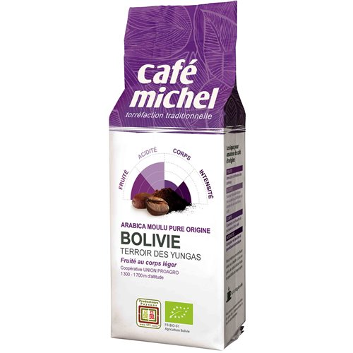 KAWA MIELONA BOLIWIA FAIR TRADE BIO - 250g [Cafe Michel]