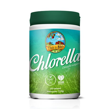 CHLORELLA 100% ORGANIC - 230tabl [This is Bio]