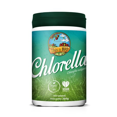 CHLORELLA 100% ORGANIC - 410tabl [This is Bio]