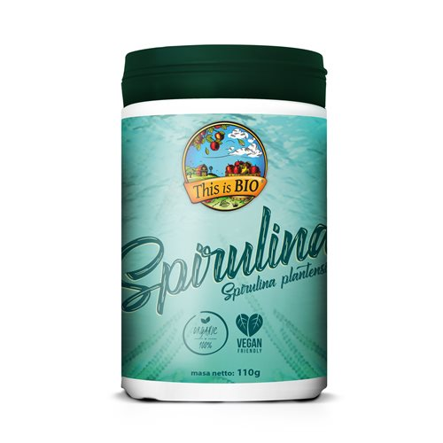 SPIRULINA 100% ORGANIC - 110g [This is Bio]