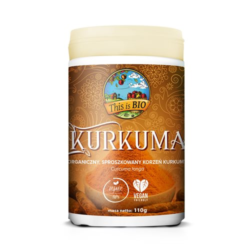 KURKUMA 100% ORGANIC - 110g [This is Bio]