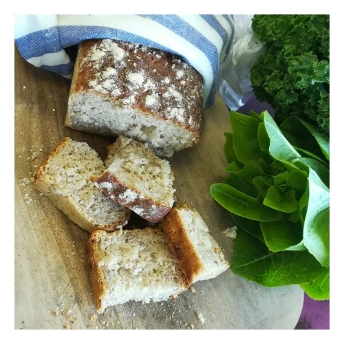 Chleb żytni na zakwasie EKO 600g - [This is Bio]