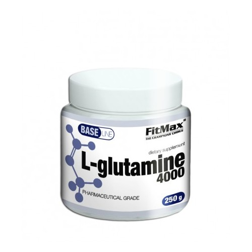 BASE L-GLUTAMINE 4000 - 250g [Fitmax]