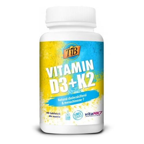 VITAMIN D3+K2 - 90tabl [TiB]