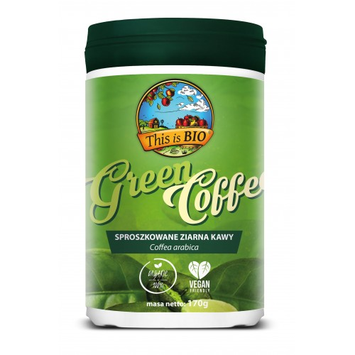 GREEN COFFEE 100% ORGANIC - 170g [This is BIO®]