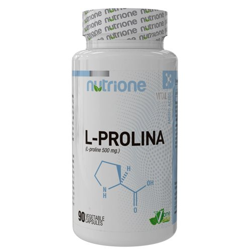 L-PROLINE - 90kaps [Nutrione]