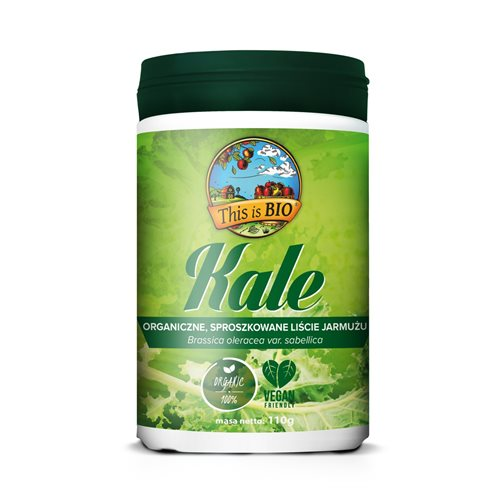 KALE (JARMUŻ) 100% ORGANIC - 110g [This is Bio]