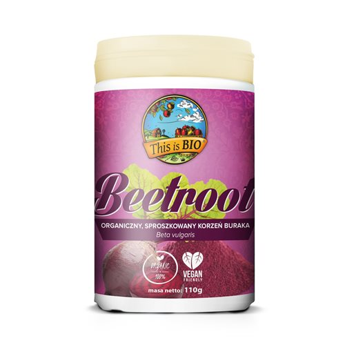 BEETROOT (BURAK) 100% ORGANIC - 110g [This is BIO®]