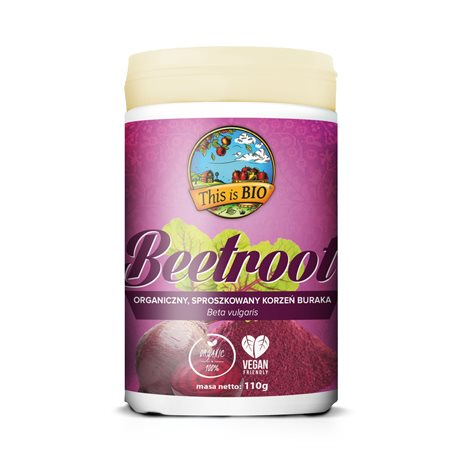 BEETROOT (BURAK) 100% ORGANIC - 110g [This is Bio]
