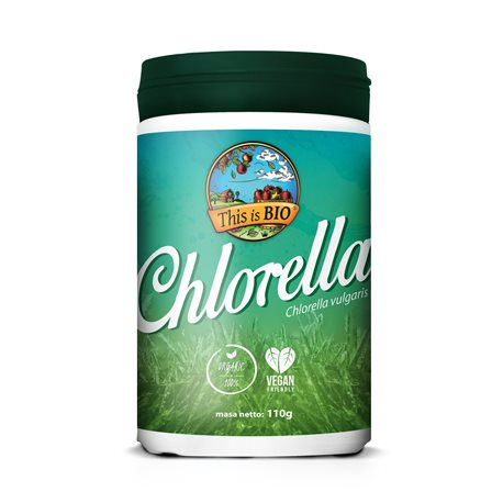CHLORELLA 100% ORGANIC - 110g [This is Bio]