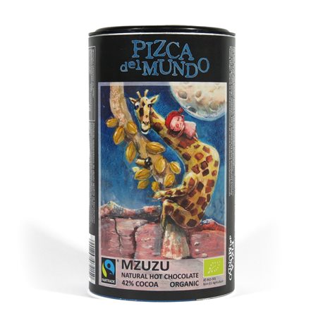 CZEKOLADA NA GORĄCO MZUZU NATURALNA FAIR TRADE BIO - 250g [Pizca Del Mundo]