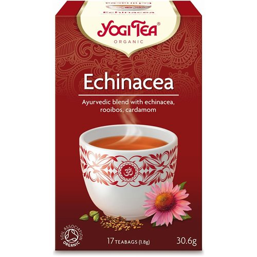 HERBATKA ECHINACEA BIO - 17 x 1,8g [Yogi Tea]