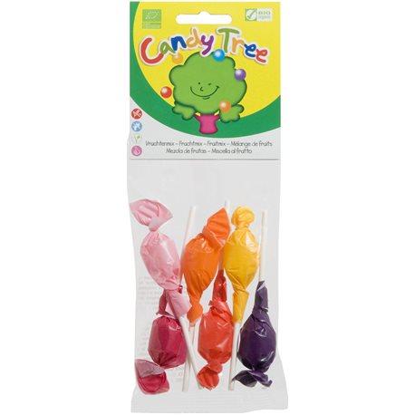 LIZAKI OKRĄGŁE MIX BEZGLUTENOWE BIO - 6 x 10g [Candy Tree]