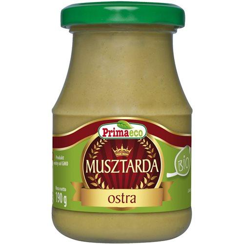 MUSZTARDA OSTRA BIO - 170g [Primaeco]