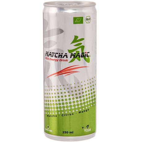 HERBATA MATCHA ENERGY DRINK BEZGLUTENOWA BIO - 250ml [Matcha Magic]