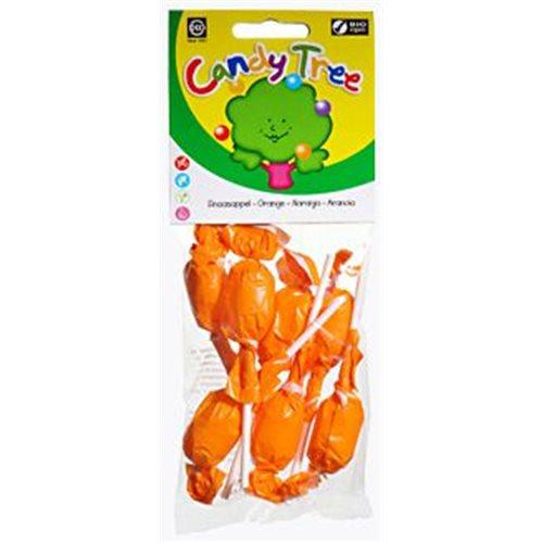LIZAKI OKRĄGŁE O SMAKU POMARAŃCZOWYM BEZGLUTENOWE BIO - 7 x 10g [Candy Tree]