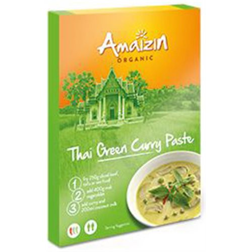 PASTA CURRY THAI GREEN BIO - 80g [Amaizin]