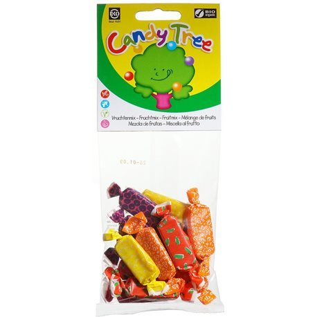 CUKIERKI MIX BEZGLUTENOWE BIO - 75g [Candy Tree]