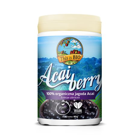 ACAI BERRY 100% ORGANIC - 80g [This is Bio]