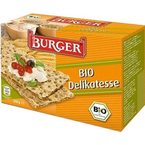 PIECZYWO CHRUPKIE ŻYTNIE RAZOWE BIO 250 g [Burger]