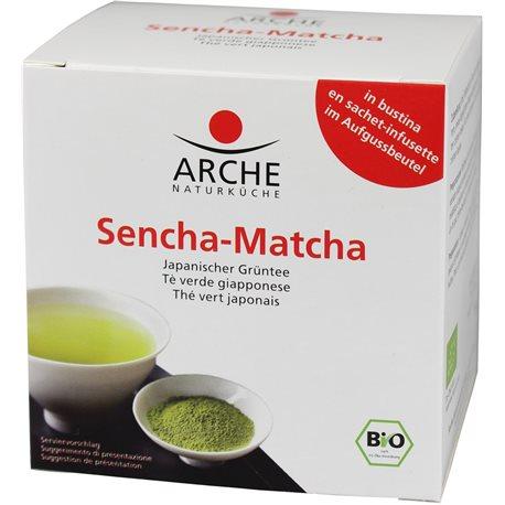 HERBATA SENCHA-MATCHA EKSPRESOWA BIO 10 x 1,5 g - ARCHE