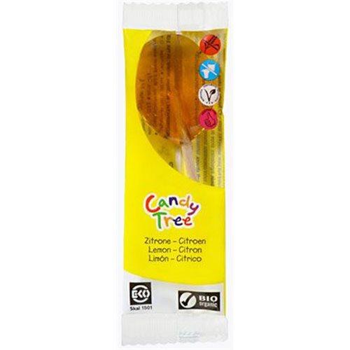 LIZAKI O SMAKU CYTRYNOWYM BEZGLUTENOWE BIO 13 g [Candy Tree]