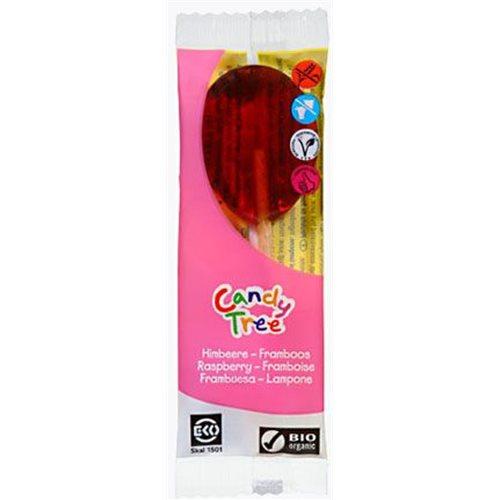 LIZAKI O SMAKU MALINOWYM BEZGLUTENOWE BIO 13 g [Candy Tree]