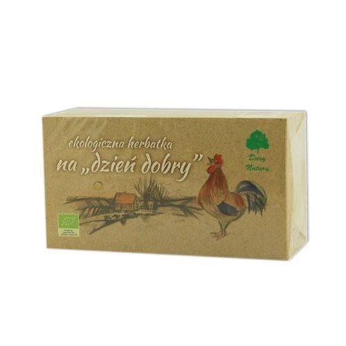 HERBATKA NA DZIEŃ DOBRY BIO - 20 x 1,5g [Dary Natury]