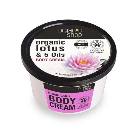 KREM DO CIAŁA INDYJSKI LOTOS 250ml [Organic Shop]