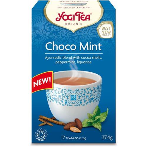 HERBATKA EKSPRESOWA CHOCO MINT BIO - 17 x 2,2g [Yogi Tea]