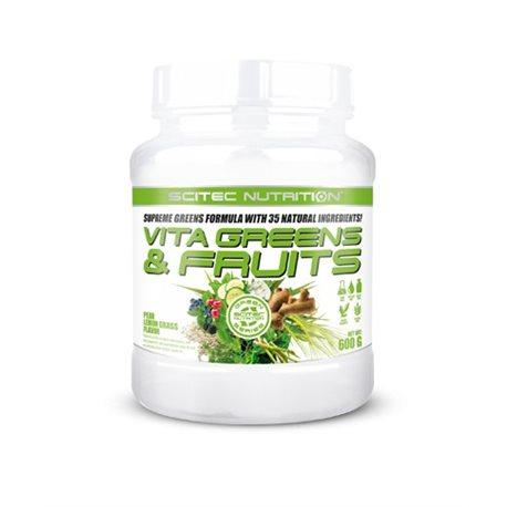 VITA GREENS & FRUITS - 600g [Scitec]