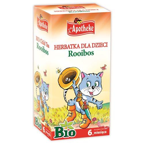 HERBATKA DLA DZIECI ROOIBOS BIO - 20 x 1,5g [Apotheke]