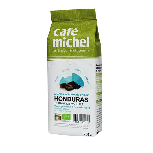 KAWA MIELONA HONDURAS FAIR TRADE BIO - 250g [Cafe Michel]