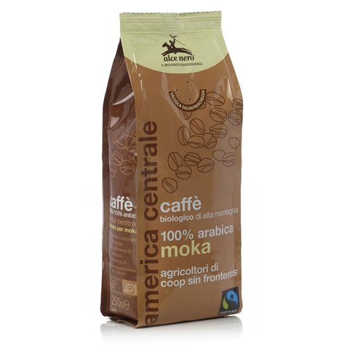 KAWA 100% ARABICA MOKA FAIR TRADE BIO - 250g [Alce Nero]