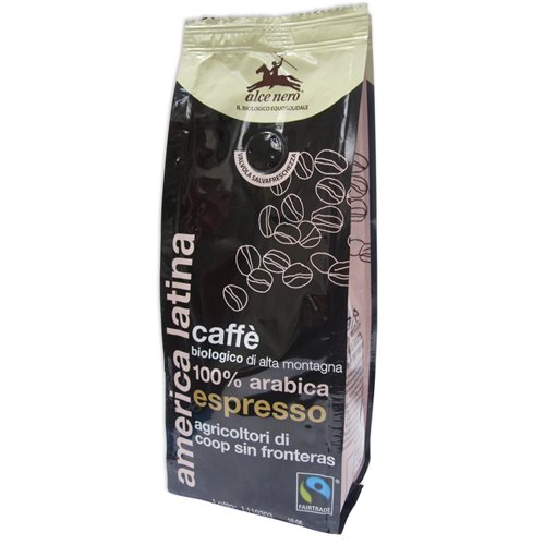 KAWA 100% ARABICA ESPRESSO FAIR TRADE BIO - 250g [Alce Nero]