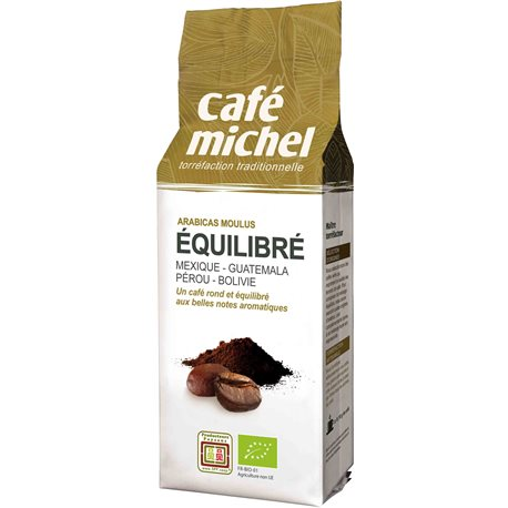 KAWA MIELONA PREMIUM EQUILIBRE FAIR TRADE BIO - 250g [Cafe Michel]