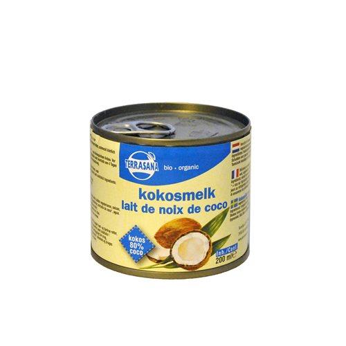 MLEKO KOKOSOWE (22% TŁUSZCZU) BIO - 200 ml [Terrasana]