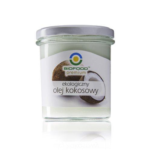 OLEJ KOKOSOWY BIO - 240g [Biofood Premium]