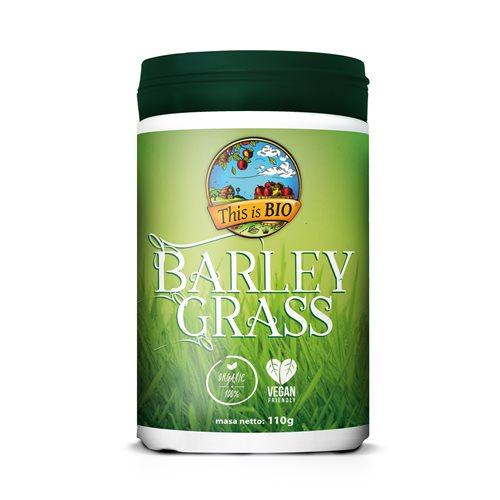 BARLEY GRASS 100% ORGANIC - 110g [This is Bio]