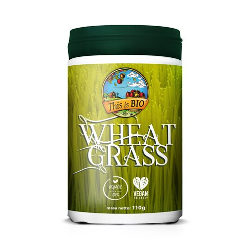 WHEAT GRASS 100% ORGANIC - 110g [This is Bio]